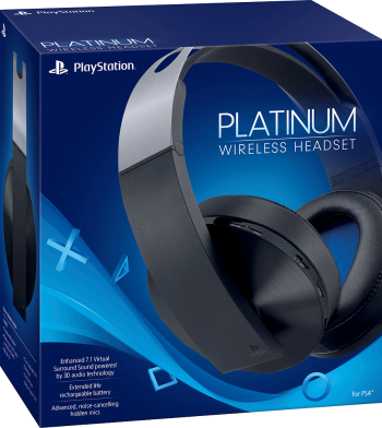 Headset sem fio Sony Platinum 7.1 - PS4