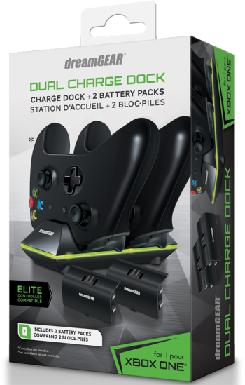 kit Dual Charge Dock para Xbox One