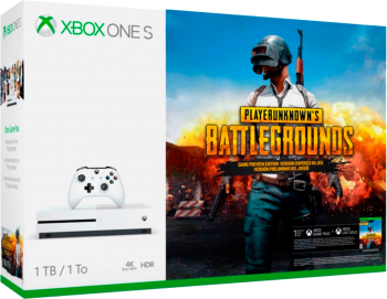 Xbox One S 4K 1TB Bundle Battlegrounds