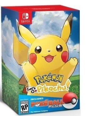 Pokemon Lets go com Poke Bola - Switch