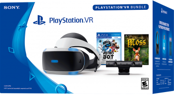 Playstation VR V2 com 2 Jogos- PS4