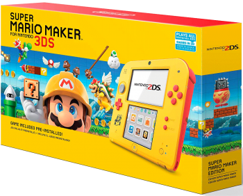 Nintendo 2DS com Super Mario Maker
