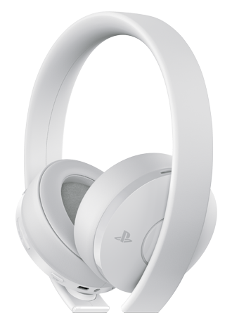 Headset Sony Branco New Gold Wireless - PS4  - foto principal 3