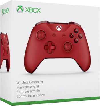 Controle Wireless Xbox One S Red