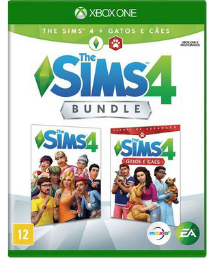 The Sims 4 Com DLC Cães e Gatos - Xbox One
