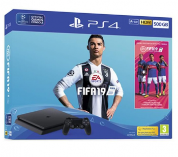 Playstation 4 Slim 500GB com FIFA 19