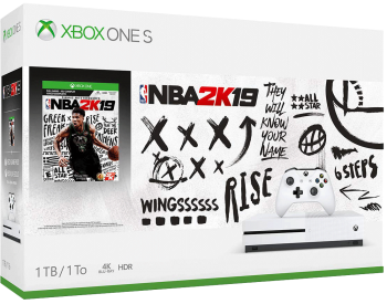 Xbox One S 1TB Bundle NBA 2K19