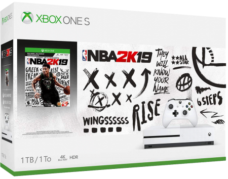Xbox One S 1TB Bundle NBA 2K19  - foto principal 1