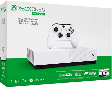 Xbox One S All-Digital 1 TB Sem Jogos  - foto principal 1