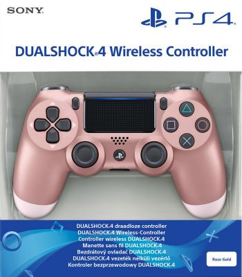Controle Dual Shock 4 Rose Gold
