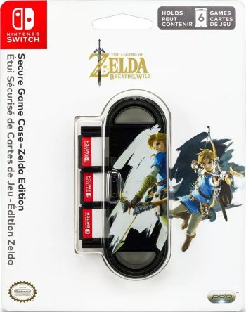 Secure Game Case Zelda Edition - Nintendo Switch