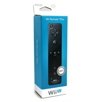 Remote Plus Black Wii / Wii U