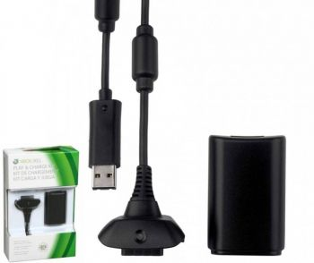 Kit Play & Charge Xbox 360  - foto 3