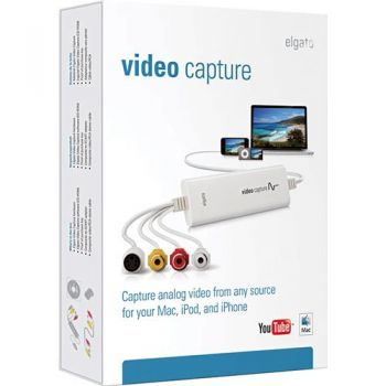 Placa de Captura Elgato Vídeo Capture - Externa (USB) Para MAC ou PC