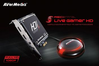 Placa Captura Avermedia Live Gamer 1080p (FULL HD) C985