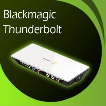 Placa De Captura Blackmagic Intensity Shuttle THUNDERBOLT para MAC