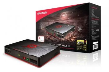 Placa de Captura (Gravador) AVerMedia Game Capture HD II C285 - Para: PS3; PS4; XBOX 360; XBOX ONE; Wii-U e PC