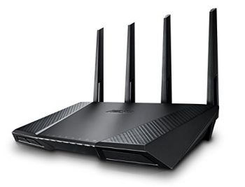 Roteador Asus Asus RT-AC87U (R) Dual-Band Wireless AC2400 Router - Dualband 5GHz + 2,4 GHz