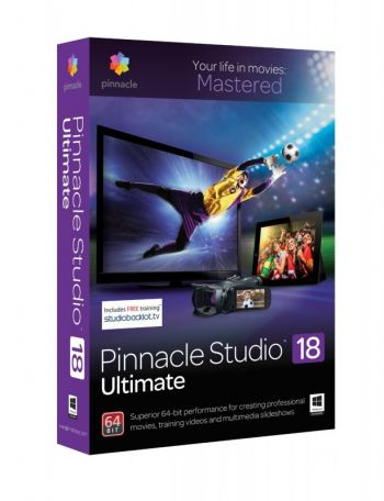 Pinnacle Studio 18 Ultimate ORIGINAL PINNACLE - O ULTIMATE!