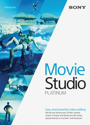 Sony Vegas Movie Studio 13 PLATINUM - Produto Original