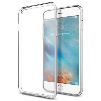 Capa iPhone 6 / 6S SPIGEN SGP11598 com Air Cushion Technology ORIGINAL - TRANSPARENTE (Liquid Crystal)