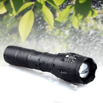 Lanterna Tática ON THE WAY 2000 Lumens LED XML T6