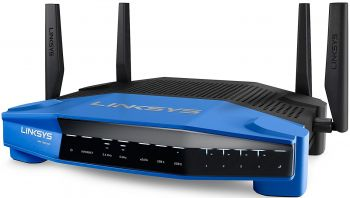 Roteador Linksys WRT1900 ACS1900 Dual-band Smart (2,4 + 5 GHz)