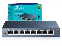 Switch 8 Portas 10 /100 / 1000mbps Desktop Tp-link Tl-sg108