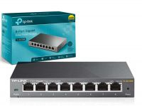Switch Gerenciável Easy Smart Gigabit De 8 Portas Tl-sg108e  - foto 6