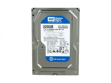 HD INTERNO 320GB SATA 2 3.0GBPS 7200RPM WD BOX - western digital desktop  - foto principal 1