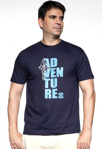 CAMISETA PITON ADVENTURE AZUL