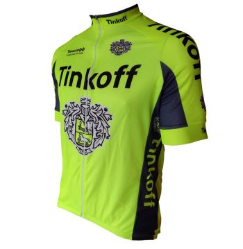 CAMISA CICLISMO TINKOFF BARBEDO