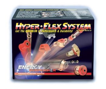 Total Kit Buchas PU Energy Hyper Flex Master Honda Civic - 1992 a 1995
