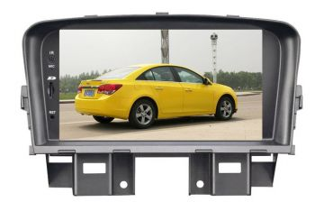 DVD + GPS + PIP + Tela de 7'' HD TFT + Touchscreen + Bluetooth + TV - Chevrolet Cruze - 2011+