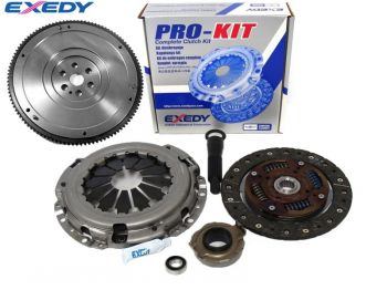 Kit Embreagem Exedy + Volante FX Racing Honda Civic - 1992 a 2000
