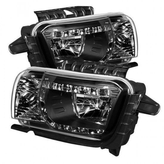 Farol LED DRL Dayline Black Chevrolet Camaro - 2010 a 2013