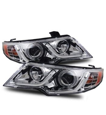 Farol Projetor Angel Eyes LED V2 Kia Cerato / Koup - 2010+