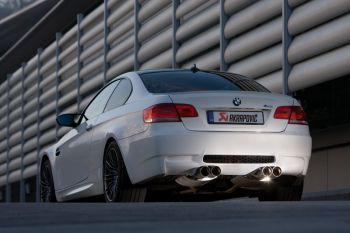 Escapamento Axle-Back Akrapovic BMW M3 E90 - 2007 a 2012