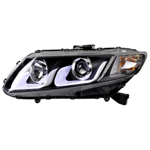 Farol LED DRL Honda Civic EXR LXR - 2012 a 2016