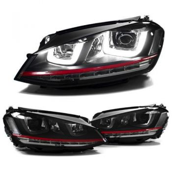 Farois Black LED DRL Projetor V2 VW Golf MK7 GTI 2.0T - 2013+