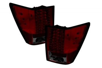 Lanternas Red Smoke LED Jeep Grand Cherokee - 2005 a 2007