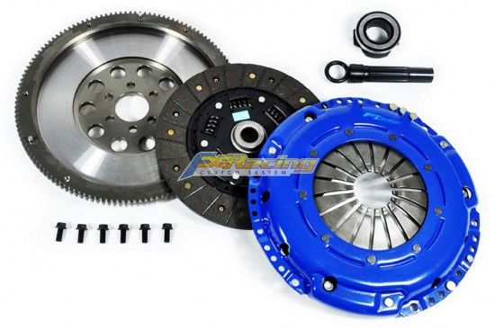 Kit Embreagem Stage 2 + Volante FX Racing Audi A3 8L 1.8T VW Golf MK4 GTI 1.8T