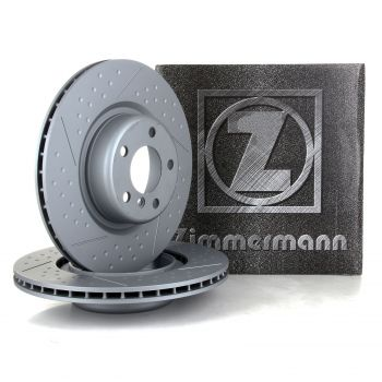 Discos de Freio Zimmermann Drilled / Slotted BMW F20 M135i - 2014+