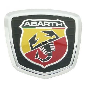 Emblema Badge Traseiro Abarth Fiat 500