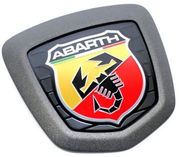 Emblema Badge Traseiro Smoke Abarth Fiat 500