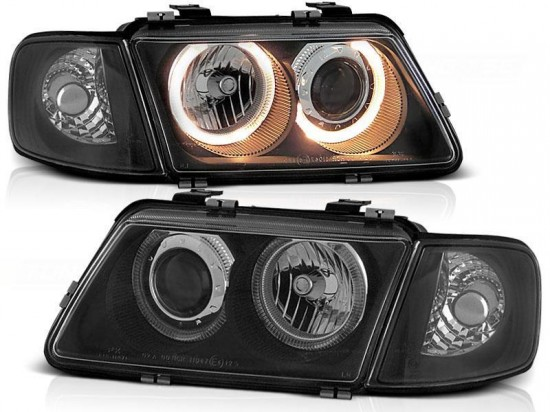 Farois Angel Eyes Black Audi A3 8L - 1996 a 2000