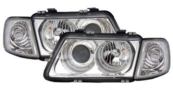 Farois Angel Eyes Chromo Audi A3 8L - 1996 a 2000
