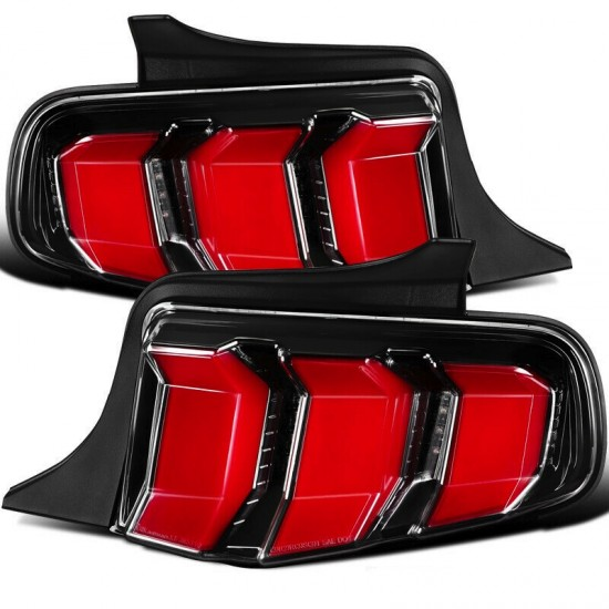 Lanterna Traseira RED LED Ford Mustang - 2010 a 2012