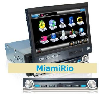 DVD + GPS + Tela de 7'' + Touchscreen + Bluetooth + TV