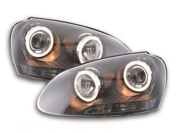 Farois Projetor Angel Eyes VW Jetta MK5 - 2007+